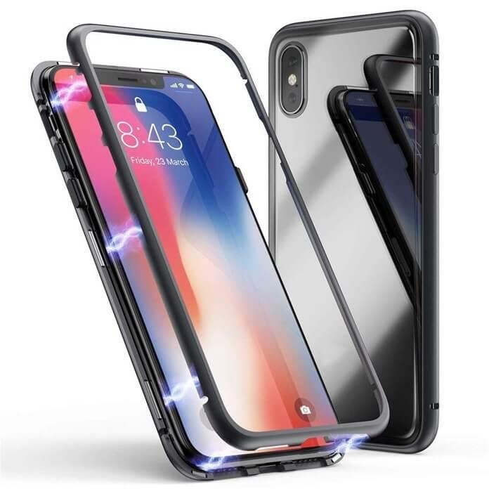 Защитное стекло и чехол для смартфона