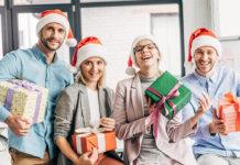 Новогодние подарки коллегам