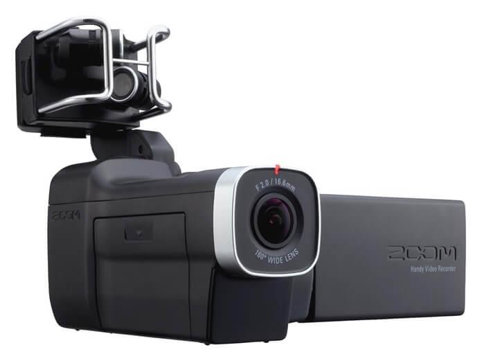Zoom Q8 хорошая любительская видеокамера