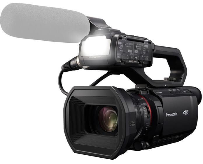 Panasonic HC-X2000 – лучшая видеокамера 2021 по цене/качеству