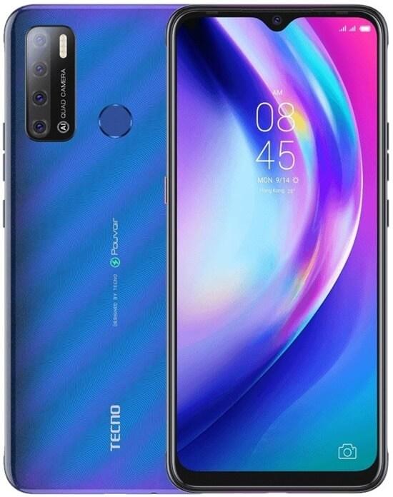 TECNO Pouvoir 4 бюджетный смартфон 2021 с хорошей батареей