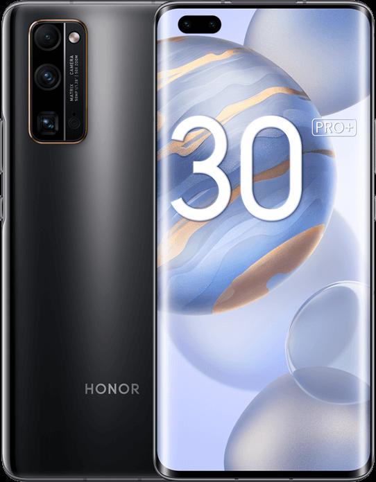 HONOR 30 Pro+ c экраном 89,8%