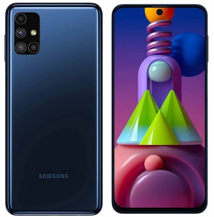 Топ-10. Samsung Galaxy M51