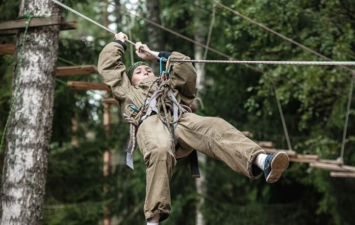 Вымпел Шторм – военно-патриотический детский лагерь