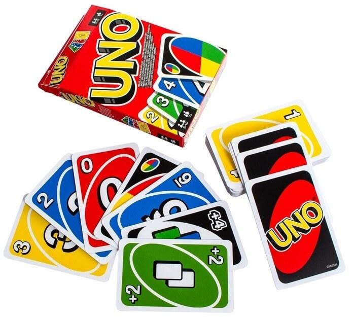 «Уно» карточная игра