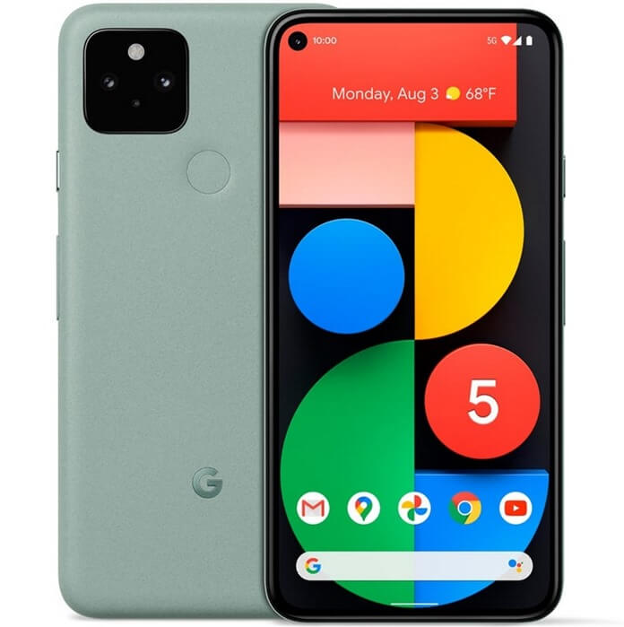 Google Pixel 5 в рейтинге надёжных смартфонов