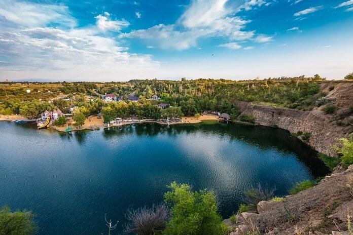 Озеро Эльдорадо Каменск-Шахтинский