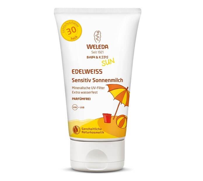 Weleda Солнцезащитный крем для младенцев и детей SPF 50