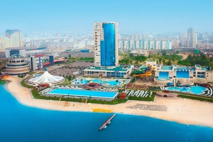 Отель Ривьера Казань аквапарк