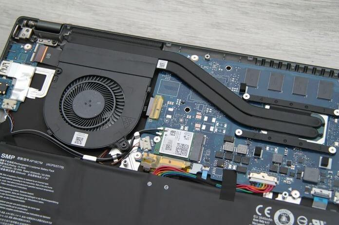 Производительность и охлаждение Acer Swift 5