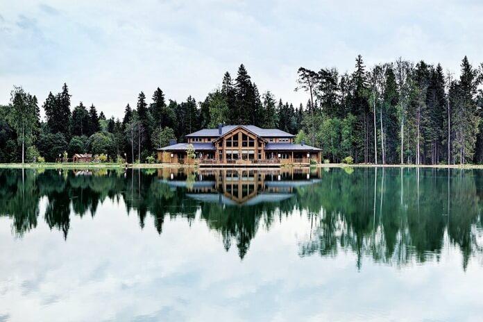 Эко-отель изумрудный лес Подмосковье