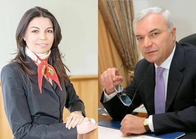 Ольга Рашникова с отцом