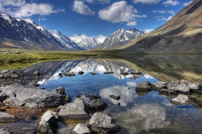 Алтайский край для пеших прогулок