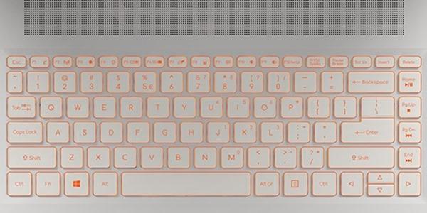 Тачпад и клавиатура