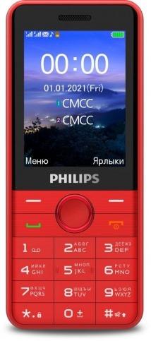 Philips Xenium E172 Красный