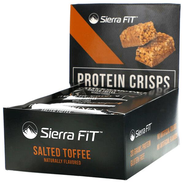 Sierra Fit, протеиновые чипсы