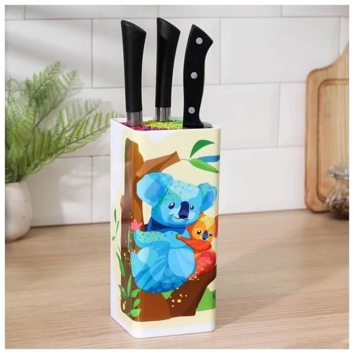 Подставка для ножей «Коалы»