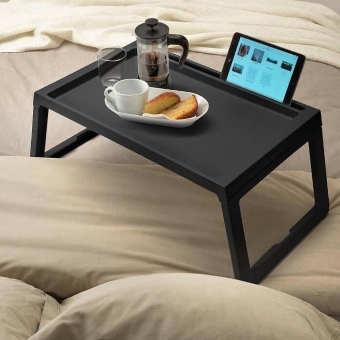 Столик для завтрака в постель, новогодний подарок для мамы