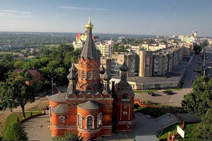 Брянск в рейтинге самых красивых старых городов России