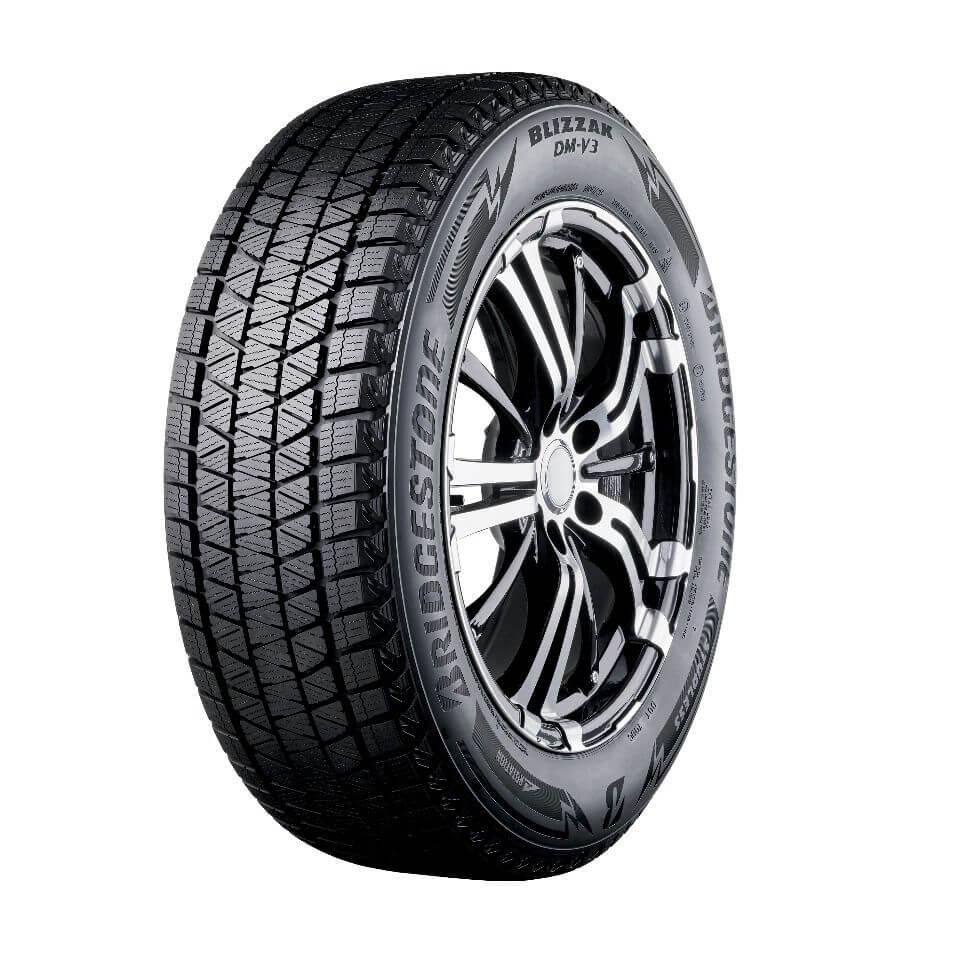 Bridgestone Blizzak DM-V3 новинка в рейтинге нешипованных шин