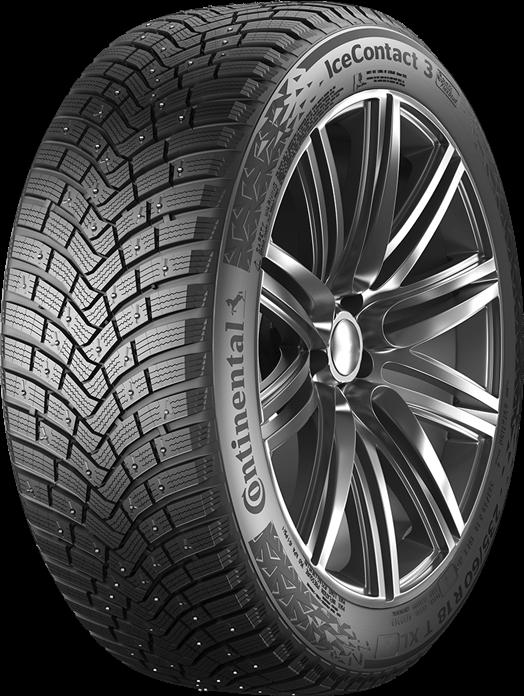 Отличные зимние шины по тестам: Continental IceContact 3