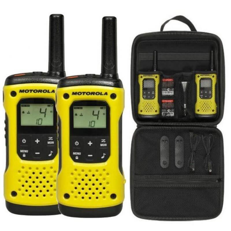 Motorola TLKR-T92 H2O отличная рация для рыбаков и охотников