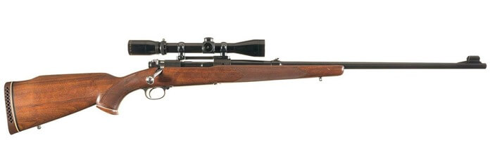 Популярное охотничье ружье Winchester 70