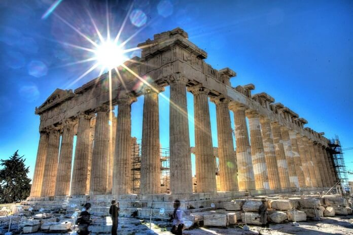 Где отдохнуть в октябре: Афины, Греция