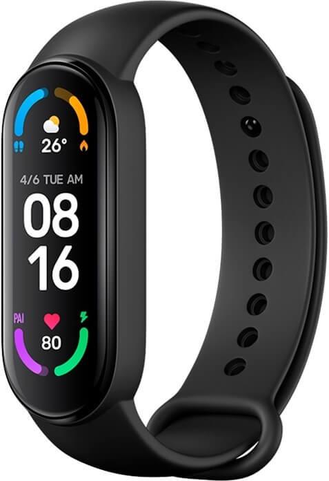 Умные часы Xiaomi Mi Smart Band 6 в подарок маме на Новый год
