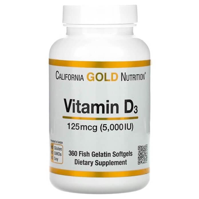 Витамин D для укрепления иммунной системы осенью