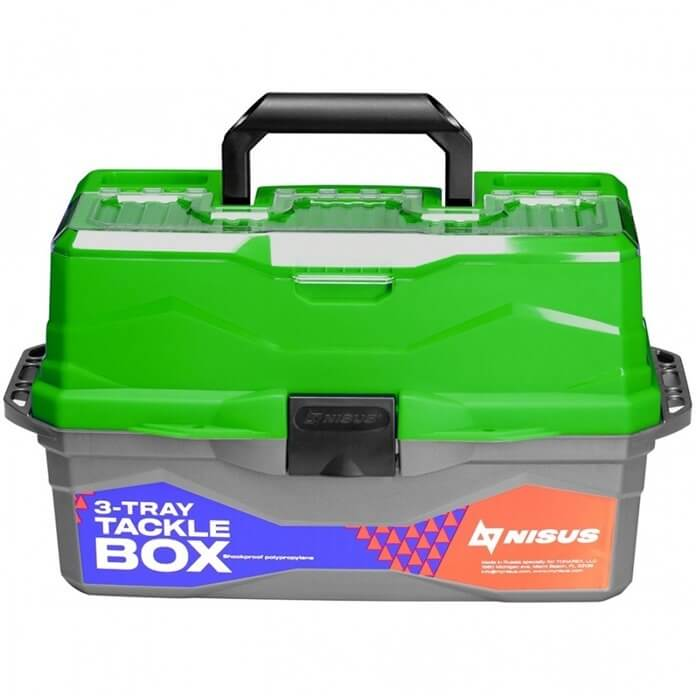 Ящик Tackle Box NISUS для рыболовных приманок и снастей, новогодний подарок рыбаку