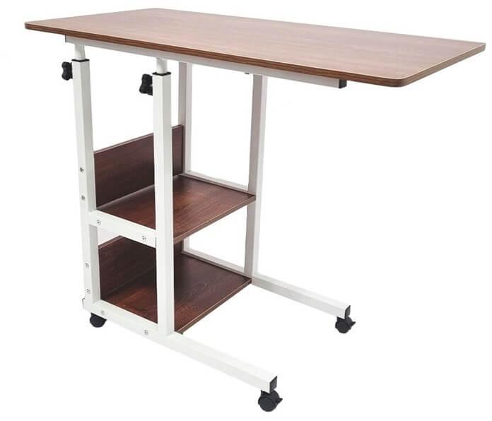 Прикроватный стол на колесиках для ноутбука или планшета URM